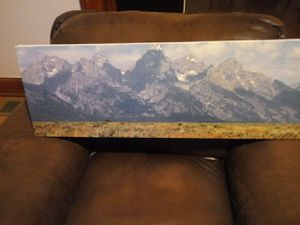 Mountain canvas for Sale in Quincy, IL