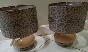Cheetah lamps for Sale in Southwest Ranches, FL