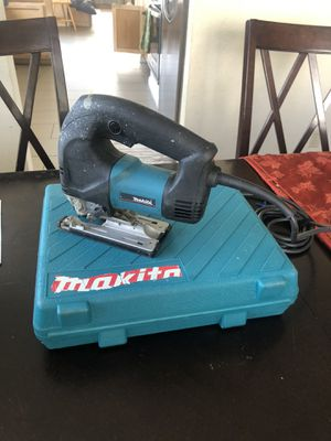 Makita Orbital Jig Saw with case and blade for Sale in San Diego, CA