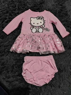 Hello Kitty dress and bloomers 3-6 months for Sale in Glendale, AZ