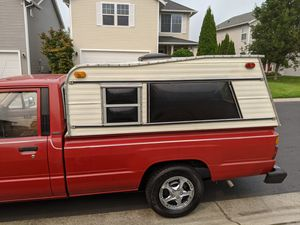 Toyota Pickup Long bed Canopy/Camper for Sale in Puyallup, WA