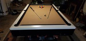 Restored 3 pc slate pooltable for Sale in Nipomo, CA