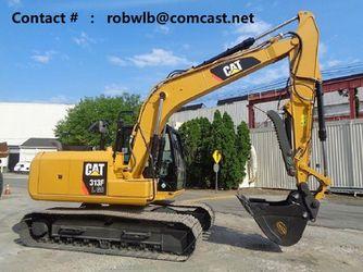 2016 Caterpillar 313F LGC Excavator for Sale in Arlington,  VA