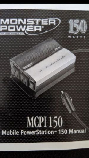 Mobile Full Size Power Inverter 150W for Sale in St. Petersburg, FL