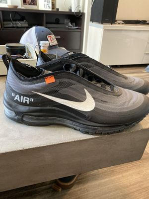 Nike Off-White AirMax 97 (BLACK) for Sale in Los Angeles, CA