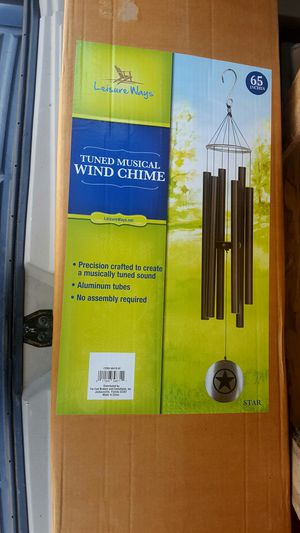 """New 65"""" laser cut wind chimes for Sale in Washington, TX"""
