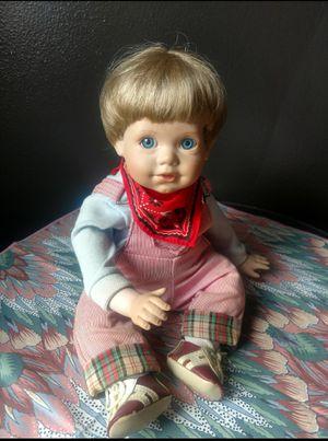 Vintage Porcelain Boy Doll for Sale in Des Moines, IA