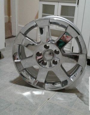Jeep Wrangler chrome 18 inch wheel for Sale in Norwood, MA