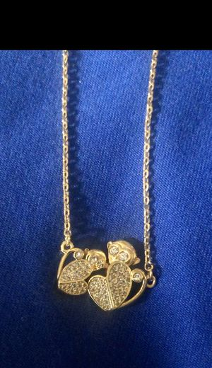 Brand New Kate Spade 'Mom knows best' pave monkey pendant necklace. for Sale in Alpharetta, GA