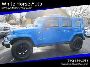 2012 Jeep Wrangler Unlimited Sahara for Sale in Warrenton, VA
