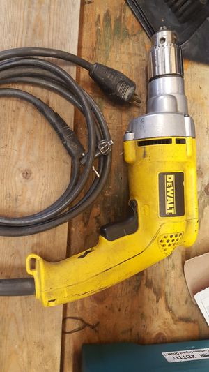 DeWalt corded heavy duty drill for Sale in East Wenatchee, WA