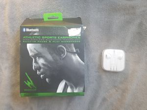 Jogging and Apple Earbuds for Sale in Bakersfield, CA