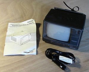 "Vintage Radio Shack / Memorex Portavision 5"" Black & White TV for Sale in Fox Lake, IL"