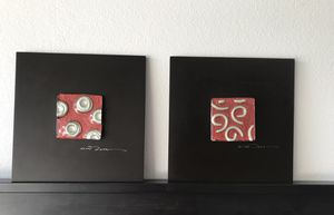Red abstract art for Sale in Montclair, CA