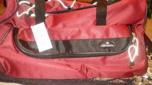 "RED SAMSONITE 22"" WHEELED DUFFLE BAG for Sale in Arcadia, CA"