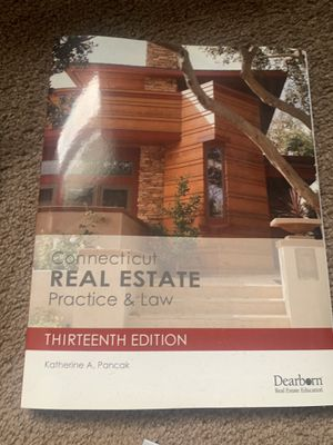 Connecticut Real Estate Practice & Law 13th edition for Sale in New Haven, CT