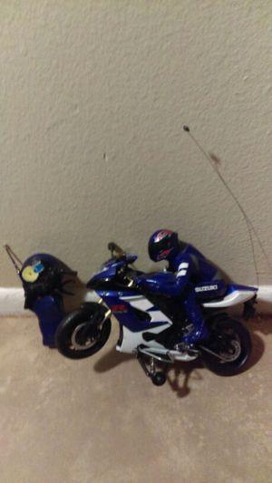 Suzuki remote control motorcycle for Sale in Glendale, AZ