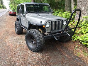 2000 TJ Jeep Wrangler sport for Sale in Tacoma, WA