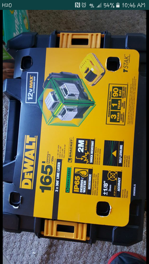 Brand and new 360 dewalt lacer for Sale in Annandale, VA