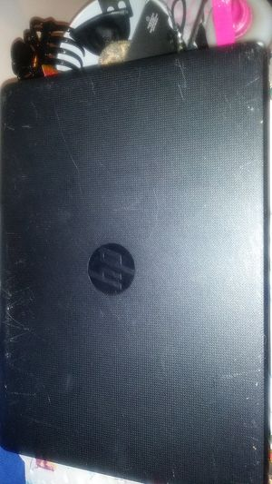 HP notebook. Likely fixable or for parts. 1 yr old for Sale in Chelsea, MA