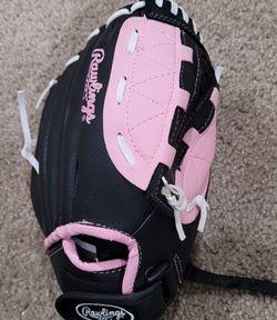 Kids Pink Rawlings Baseball Glove for Sale in Hanover,  MD