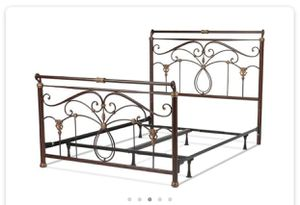 Beautiful Sturdy Marble Finish Bed Set for Sale in Gambrills, MD