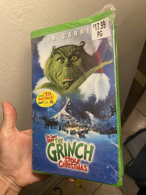 Grinch VHS for Sale in Fort Lauderdale, FL