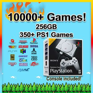 PlayStation Classic 10000+ Games 30 Systems PS1 Classic USB Mini Retro Gaming Console - (PSX, N64, SNES, Arcade, Sega, NES, Mario, Sony) for Sale in Mineola, NY