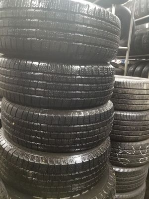 4 tires like new size 235 70 r16 price include installation for Sale in Chicago, IL