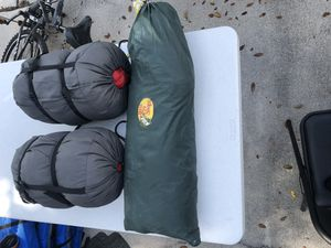 2 Sleeping Bags and Bass Pro Shops Tent for Sale in Weston, FL