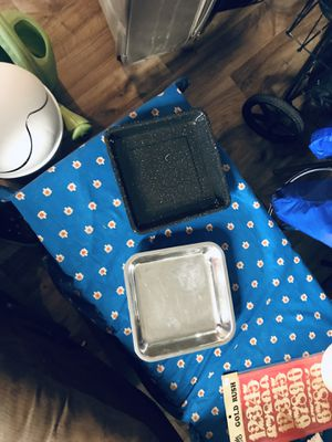 """2 Pans For cooking 9 x 9"""" for Sale in Portland, OR"""