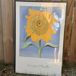 Georgia O'Keeffe Framed Art Poster for Sale in Miami, FL