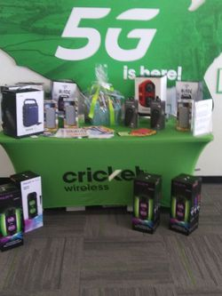 Bluetooth Speakers @Cricket Wireless for Sale in San Angelo,  TX