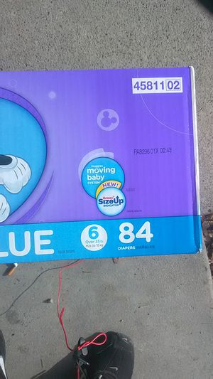 Huggies little movers 84 diapers for Sale in Salt Lake City, UT