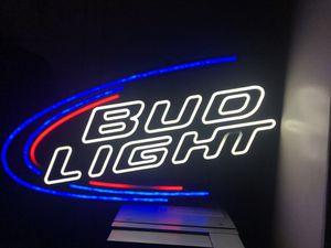BUDLIGHT neon sign for Sale in Malden, MA