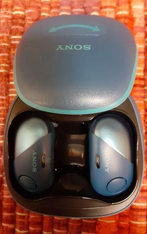 Sony Noise Cancelling Truly Wireless Bluetooth In Ear Headphones (EARBUDS) for Sale in Hemet, CA