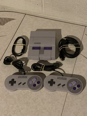 Super Nintendo Entertainment System Mini Classic Edition Console CLV-201 Tested for Sale in Cleveland, OH