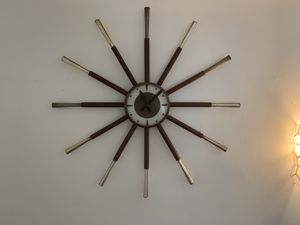 "antique Wall clock 28"" for Sale in Pasadena, CA"