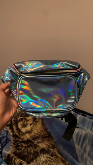 80s/90s holo blue Fanny pack for Sale in Rowland Heights, CA