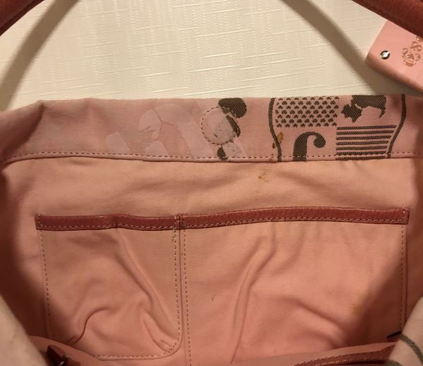 Juicy Couture Large Pink Hobo Bag