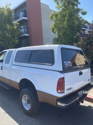Camper Shell for 1999 Ford F-250 Short bed for Sale in San Leandro, CA