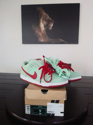 Nike Sb Low Pro Mint Green men size 9 VNDS for Sale in Moreno Valley, CA