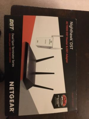 Netgear Nighthawk DST router and DST adapter for Sale in Lynnwood, WA