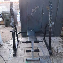 Olympic Squat Rack & Weight Bench Incline/Decline [Read Description] for Sale in Phoenix,  AZ