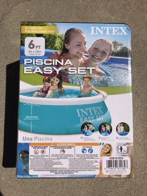NEW Intex 6ft Easy Set Inflatable Pool for Sale in Los Angeles, CA