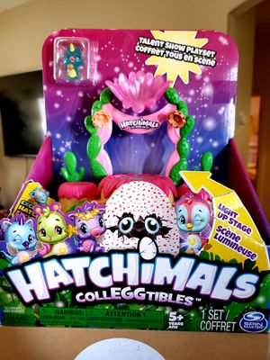 Hatchimals Colleggtibles, Talent Show Lightup Playset for Sale in Socorro, TX
