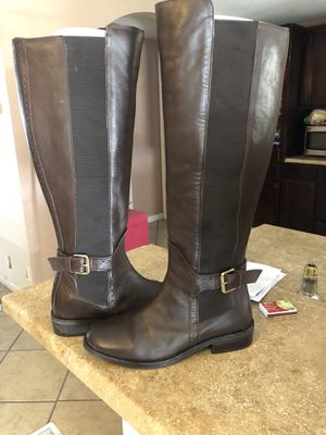 Boots color dark brown (ALDO) size 7 for Sale in Kyle, TX