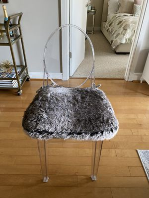 Classic Faux Fur Dining Chair Cushions for Sale in Chevy Chase, MD