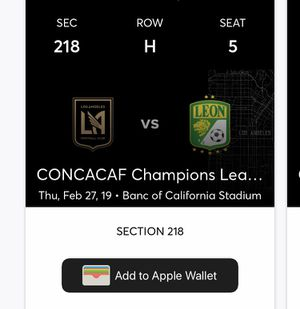 LAFC vs Leon for Sale in Los Angeles, CA