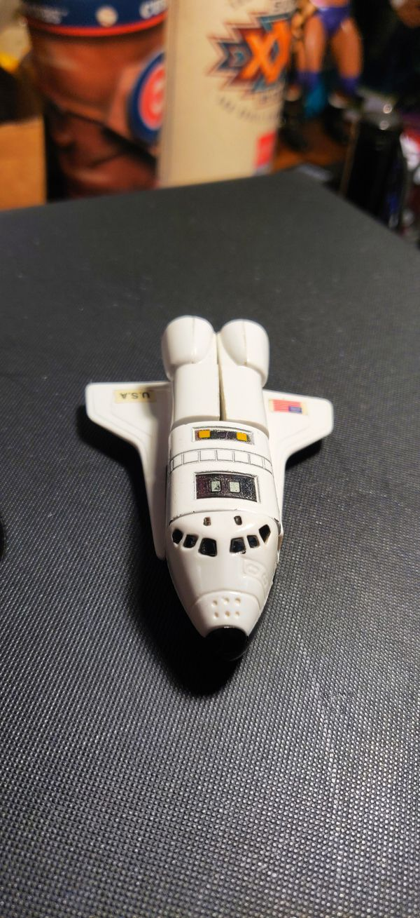 1985 Bandai, GoBots Spay-C US Space Shuttle NASA Robot Transformer, Japan, Firm.